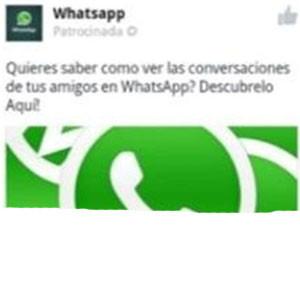 WhatsApp protagoniza un 'ataque masivo' en Facebook para Android