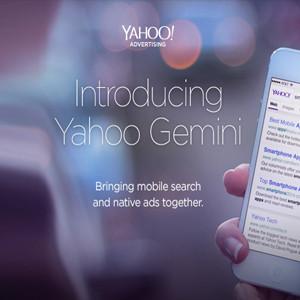 Yahoo Gemini une publicidad nativa y búsqueda móvil en un solo espacio