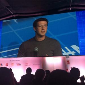 M. Zuckerberg (Facebook) en MWC: