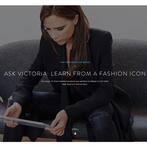 Skype se asocia con Victoria Beckham para plantar cara a Google