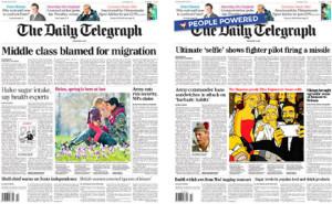 Así serían las portadas de los periódicos si fueran decididas por los lectores y no por los periodistas