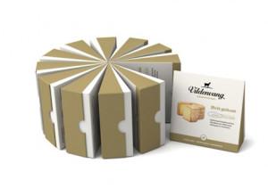 25 sabrosos ejemplos de packaging de queso con los que se le hará la boca agua