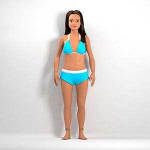 Lammily, la muñeca morena y con curvas que intenta bajar del pedestal a la