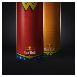Si los superhéroes bebieran Red Bull…