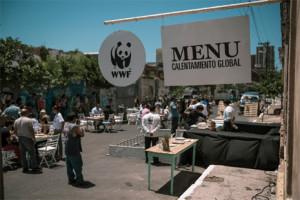 WWF cocina sobre el asfalto para concienciar sobre el calentamiento global en una campaña muy