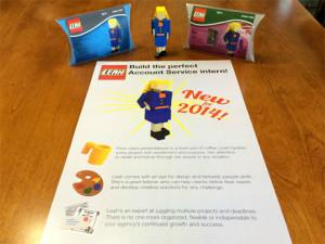 Un currículum disfrazado de set de Lego, el arma secreta de esta joven para abrirse camino en la publicidad