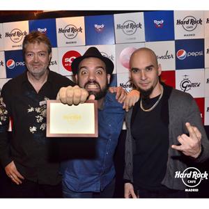 Jurado Hard Rock Rising Madrid 2014