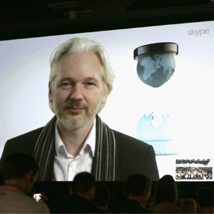 A Virtual Conversation With Julian Assange - 2014 SXSW Music, Film + Interactive Festival