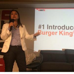 B. Shen (Burger King) en #MMKTD: