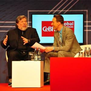 S. Wozniak en CeBIT 2014: