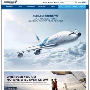 Un premonitorio anuncio de Malaysia Airlines se convierte en la broma de mal gusto más difundida en la red