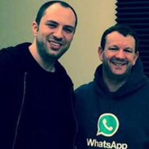 Los fundadores de WhatsApp se suman en el último minuto a la lista de 'Forbes'