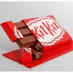 KitKat ofrece su particular homenaje a los populares bloques de Lego
