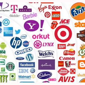 Esta infografía demuestra que en el mundo de las marcas, 'un logotipo vale más que mil palabras'