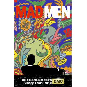 El legendario Milton Glaser diseña el cartel de la última temporada de 'Mad Men'