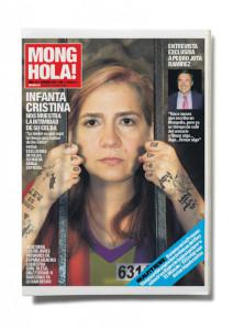 La revista '¡Hola!' pide la retirada del número dedicado a la Infanta Cristina de la revista satírica 'Mongolia'