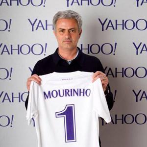 Jose Mourinho, nuevo embajador de fútbol de Yahoo!