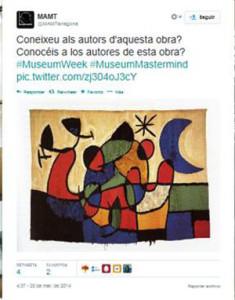 #MuseumWeek nos trae la primera exposición interactiva en Twitter