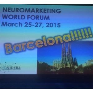 De la Gran Manzana a la Ciudad Condal: el Neuromarketing World Forum viajará en 2015 a Barcelona