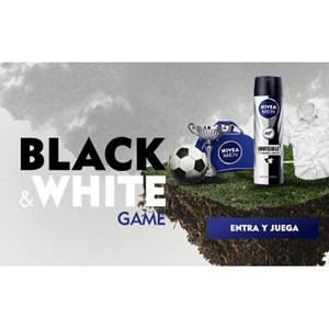 Black&White Game, el juego que más engancha de NIVEA MEN