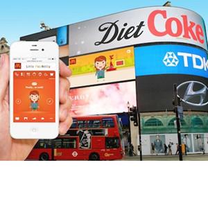 McDonald's coloca publicidad interactiva en las pantallas de Picadilly Circus