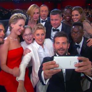 Samsung también consiguió su momento de fama en la noche de los Oscar