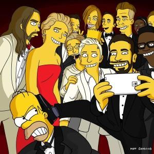 Los Simpson muestran su propia versión del famoso