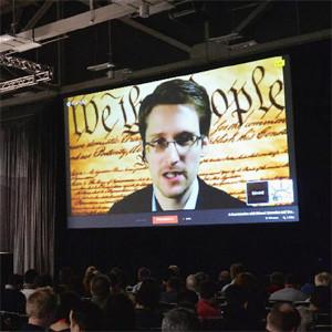 E. Snowden en SXSW: