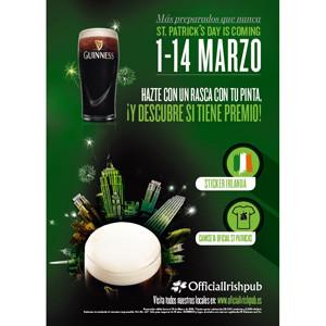 St Patrick's trae la suerte a los Official Irish Pub en forma de calderos