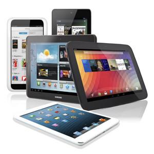 La venta mundial de tabletas crece en 2013 hasta el 68% con Android como líder