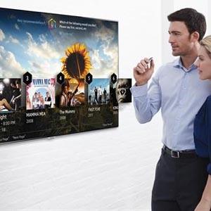Samsung trabaja en una nueva televisión que permitiría apagar y encender las luces