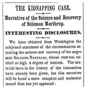 'The New York Times' corrige 161 años después un error en un artículo sobre el '12 años esclavitud' real