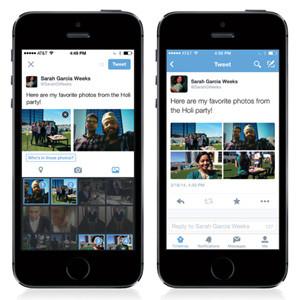 Twitter nos permite ahora añadir hasta 4 fotos a nuestros tuits y etiquetar a otros usuarios