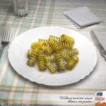 40 suculentos anuncios cocinados con pasta para darse un auténtico festín de creatividad
