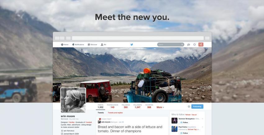 Las claves del nuevo look de Twitter