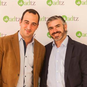 Nuno Santos, Director Comercial, y Gonzalo Carriazo, Director Financiero, las dos nuevas apuestas de ADTZ