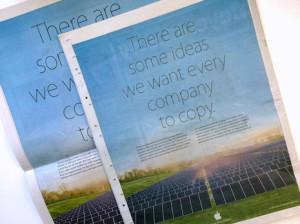 Apple 'provoca' a su rival Samsung en un anuncio muy descarado