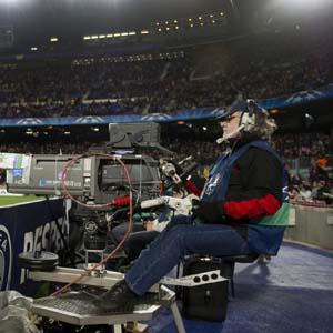 cámara fútbol