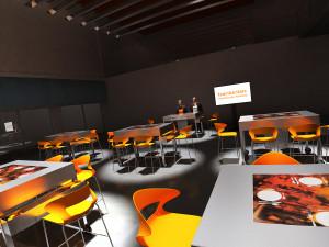 La agencia La 5ª une cocina y finanzas para una serie de eventos para Bankinter