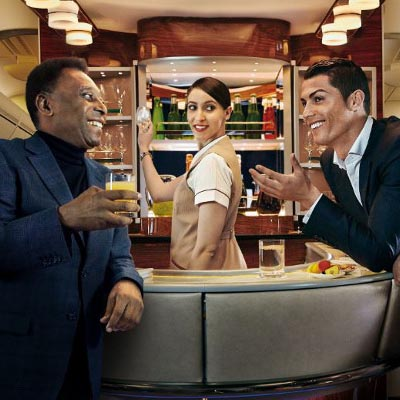 Emirates Airlines escoge a Microsoft para su campaña global #AllTimeGreats