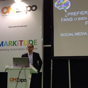 ¿Prefieres 1.000.000 de fans o 10.000 usuarios fieles? D. Devai (Epsilon Technologies) en OMExpo