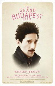 'El Gran Hotel Budapest' y sus protagonistas se convierten en lista de Spotify