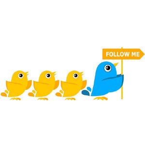 Un clic basta para conseguir miles de nuevos seguidores y clientes en Twitter