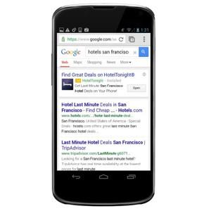 Google sigue la estela de Facebook y Twitter y mostrará anuncios para la instalación de apps en el móvil