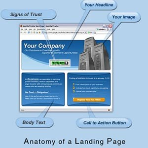 El poder de una landing page