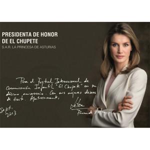 La Princesa Doña Letizia,