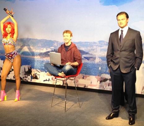 mark zuckerberg cera con leo y riri
