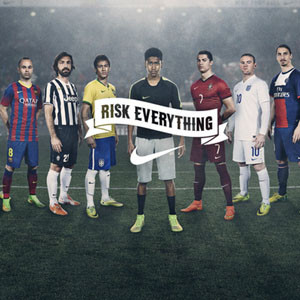 Cristiano Ronaldo, Hulk o Neymar protagonistas del spot de Nike para el Mundial de Brasil