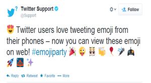 ¡Adiós a las 'cajas vacías'! La versión web de Twitter ya soporta caracteres emoji