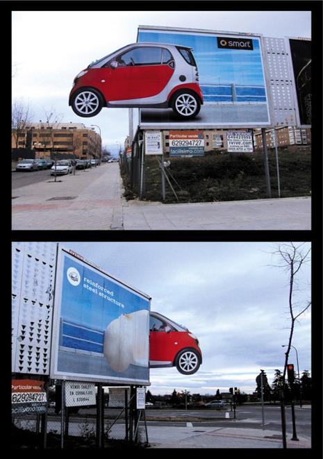 Publicidad y propaganda 2008 20 carteles de publicidad exterior que tienen la sart n cogida - Carteles publicitarios originales ...